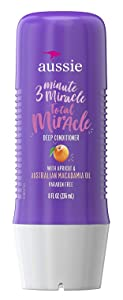 Aussie 3 Minute Miracle Strong Treatment, 8 Ounce (236ml) (2 Pack)