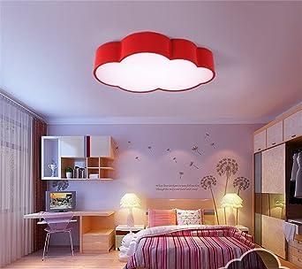 brightllt nios de kinder dormitorio cartoon lmpara de techo de nubes clida atencin moderna para