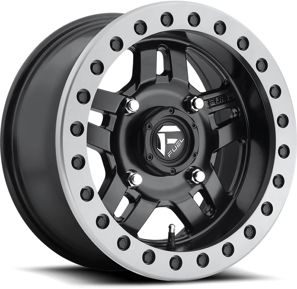 Fuel Vector Beadlock 15x7 ATV//UTV Wheel 4//156 D9201570A545 Matte Black 4+3
