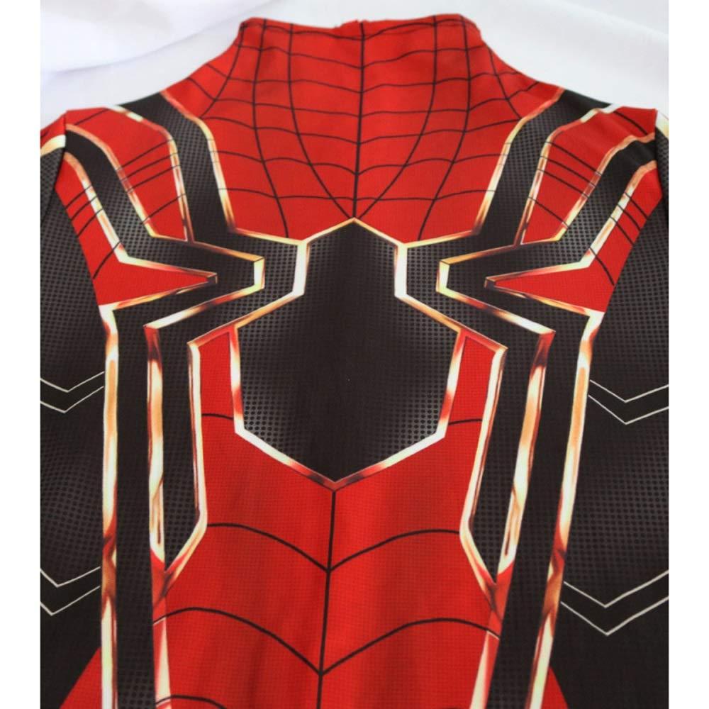 XJLG Traje de Spiderman Avengers 3 Medias Medias Medias siamesas Cosplay Adulto de la Fiesta de la peliacute;cula (Color : Red, Tamantilde;o : XXL) 32171c