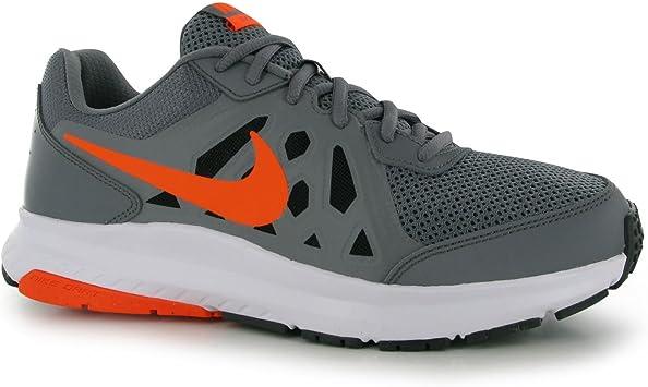 Nike Dart 11 – Zapatillas de Running para Hombre Gris/Naranja Fitness Sports Trainers Zapatillas Deportivas, Gris y Naranja: Amazon.es: Deportes y aire libre