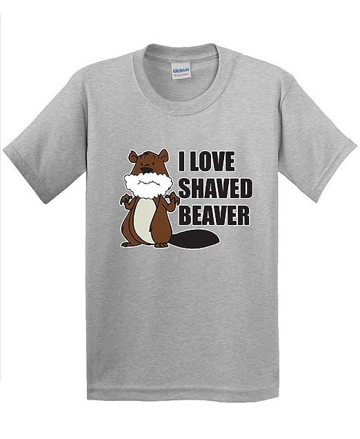 shirt t shaved Beaver