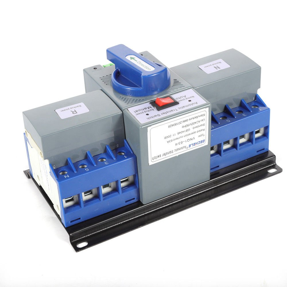 TFCFL Professional Automatic Transfer Switch Dual Power 4P 63A 400V Changeover Switch by TFCFL (Image #1)