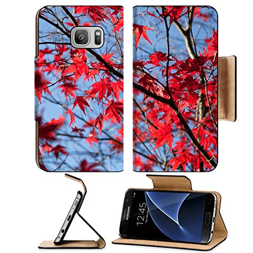 Maple Leaf Promotions (Liili Premium Samsung Galaxy S7 Flip Pu Leather Wallet Case Colorful maple leaves autumn for background Image ID 23405965)