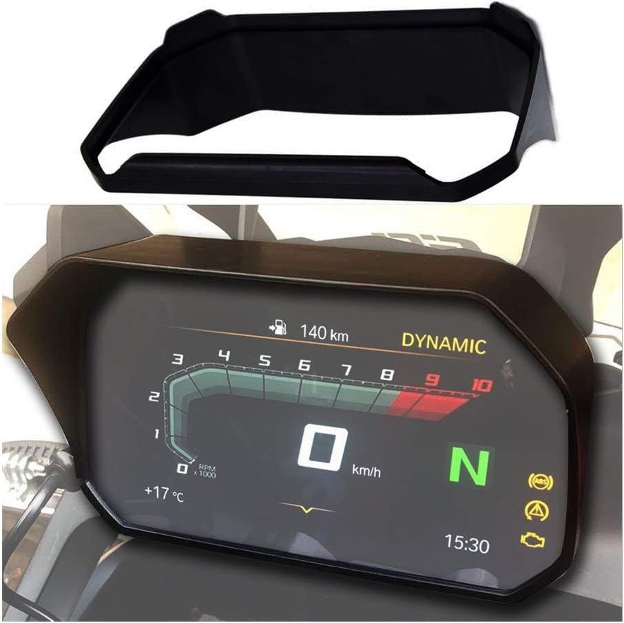 SSGLOVELIN Ajuste for BMW R1250GS R1200GS ADV LC F850GS F750GS C400X S1000XR Motocicleta Parasol Veloc/ímetro Tac/ómetro Protector de Pantalla LCD Escudo