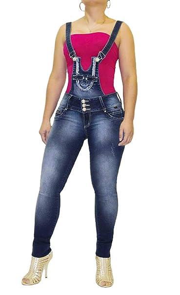 Pantalón Vaquero Mujer Jeans Push. Up Levanta Cola ...