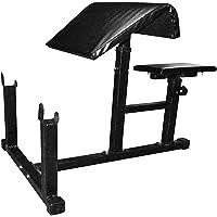 Body Maxx Fitness Preacher Curl Bench (Black)