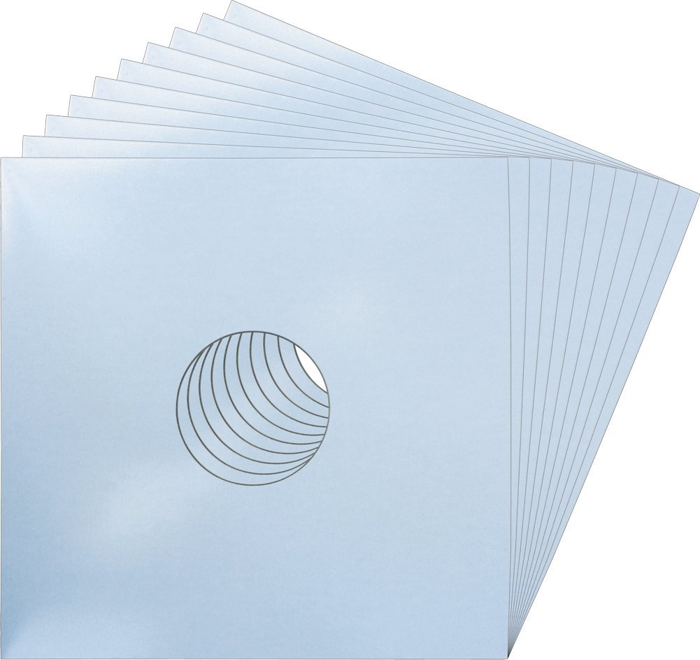 12'' Record Jackets with Center Hole - Baby Blue - 12JWBBHH - (10 Sleeves)