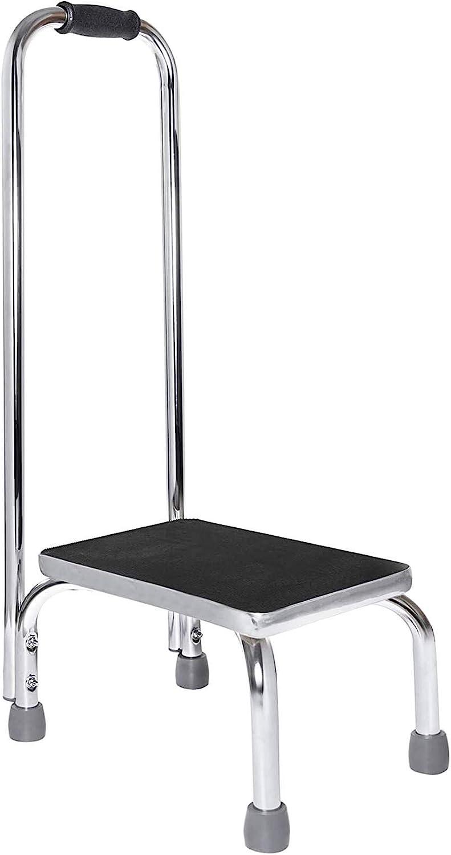 Vaunn Medical Foot Step Stool with Handle