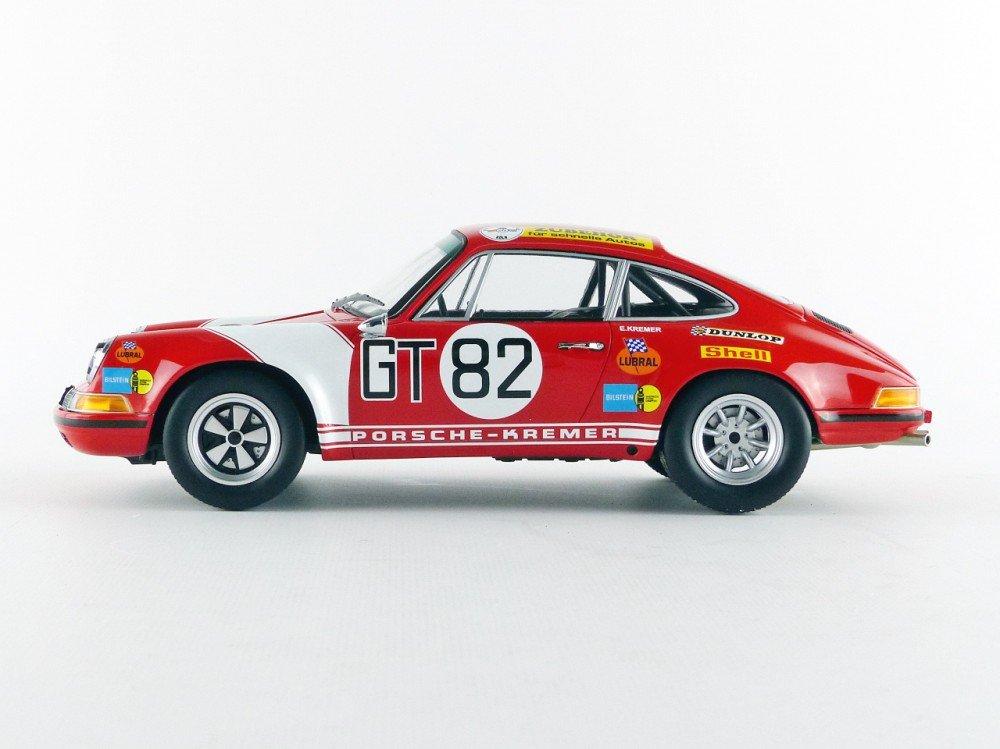 Minichamps 107716882 - Porsche 911 S - ADAC 1000 Km 1971 - Escala 1/18 - Rojo/Blanco: Amazon.es: Juguetes y juegos