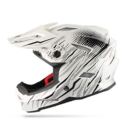 WWUX Cascos Off Road Casco Motocross Cascos Enduro Cross Country ATV Dirt Bike Motos Racing Cascos