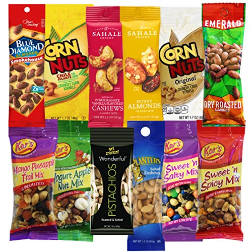 Ultimate Nuts Grab And Go Snacks Variety