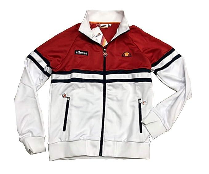 d5a82935b5 Ellesse Felpa Uomo 792014 White ss19: Amazon.it: Abbigliamento