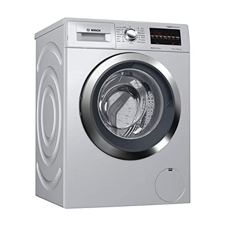 Bosch 8 Kg Fully Automatic Front Load Washing Machine (WAT2846SIN, Silver):  Amazon.in: Home & Kitchen