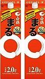 白鶴 サケパック まる [ 日本酒 兵庫県 2000ml×2本 ]