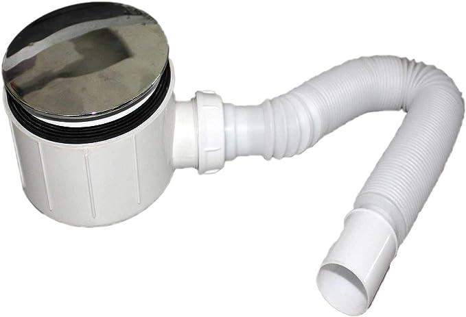 Válvula pileta de desagüe para Plato de Ducha 90mm con Manguera ...