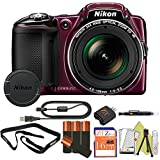 Nikon COOLPIX L830 16MP Point & Shoot Digital Camera (Frustration Free Packaging) (Starter Kit)