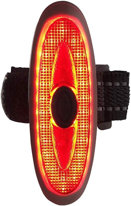 ZUKKA Bike Tail Light-USB Rechargeable Warning Rear Bicycle Light