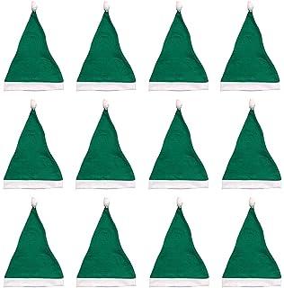e7339b5ae5e Green Santa Hats Bulk Adult Kids 12 Pack Great Christmas Hat For The  Holidays Bulk Wholesale