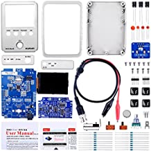 Kuman JYE Tech DSO Shell Oscilloscope DIY Kit with Open Source 2.4 inch color TFT LCD+ Shell + DIY Parts + Probe 15001K (SMD pre-soldered)