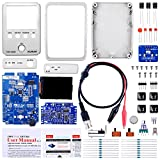 Kuman JYE Tech DSO Shell Oscilloscope DIY Kit Open Source 2.4 inch Color TFT LCD+ Shell + DIY Parts + Probe 15001K (SMD pre-soldered)