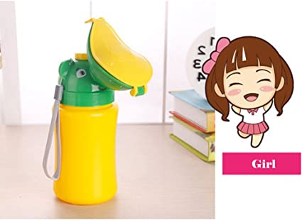Girls Novelty Portable Potty Urinal for Walking Camping Travel