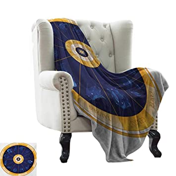 Amazon com: BelleAckerman Mother Blanket Astrology,Natal