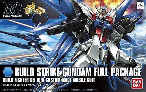 Bandai Hobby HGBF Strike Gundam Full Package Model Kit, 1/144 Scale