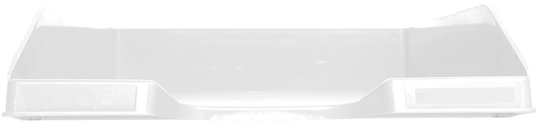 6er Set k/önigsblau transluzent glossy 34,7 x 25,5 x 6,5 cm, f/ür Dokumente DIN A4, ideal f/ür Ihre Organisation, robust, stapelbar Exacompta 113260D Combo Midi Briefablage