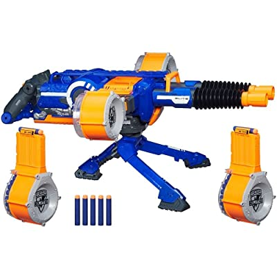 NERF Rhino Fire Blaster with 100 Darts: Toys & Games