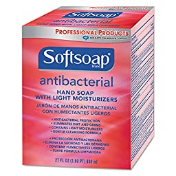 Softsoap CPM-01904CT Antibacterial Moisturizing Hand Soap, Crisp Clean Scent, 800 mL Refill (Pack of 12)