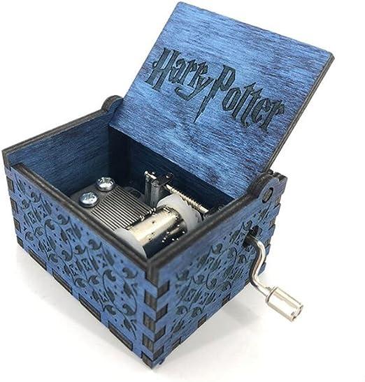 Cuzit Caja musical de madera con manivela de Harry Potter: Amazon ...