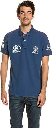 Franklin & Marshall Polo Azul M: Amazon.es: Ropa y accesorios