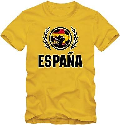 España Campeonato De Europa 2016#2 Camiseta | T-Shirt | Fútbol | Hombre | Jersey | La Furia Roja | Equipo Nacional: Amazon.es: Ropa y accesorios
