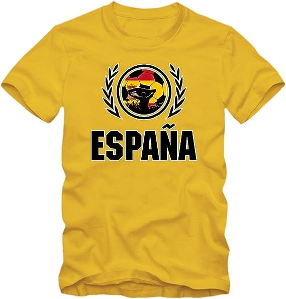 España Campeonato De Europa 2016#2 Camiseta | T-Shirt | Fútbol ...