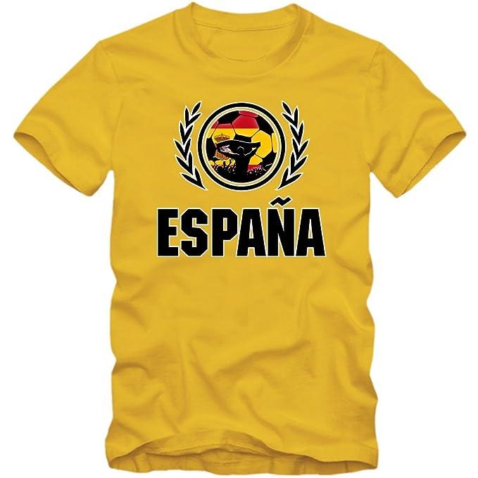España Campeonato de Europa 2016#2 Camiseta | T-Shirt | Fútbol | Hombre