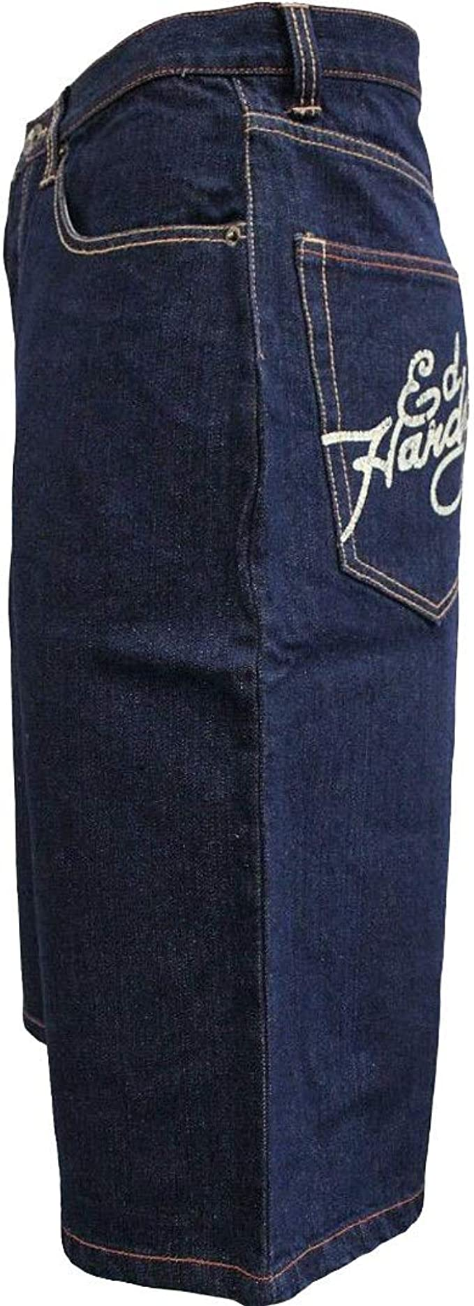 Amazon Com Ed Hardy By Christian Audigier Pantalones Vaqueros Para Hombre Alive Aware 38 Clothing