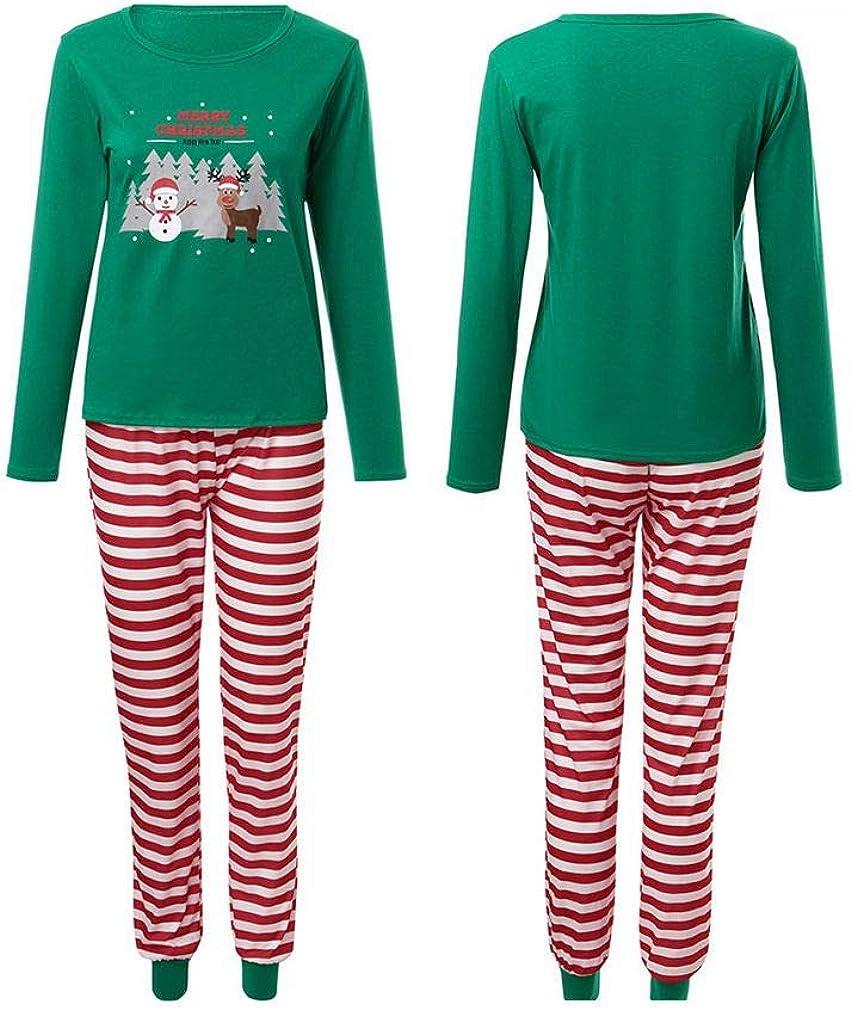 Kehen Merry Christmas Matching Family Pajamas Ugly Santa Claus Sleepwear Toddler Boy Girl Soft Homewear PJs Set