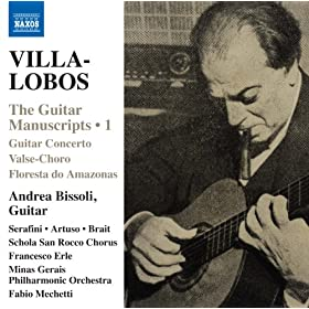 Amazon.com: Villa-Lobos: The Guitar Manuscripts, Vol. 1: Andrea