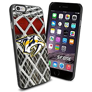Nashville Predators Goal Net #1897 Hockey iPhone 6 (4.7) Case Protection Scratch Proof Soft Case Cover Protector by mcsharks