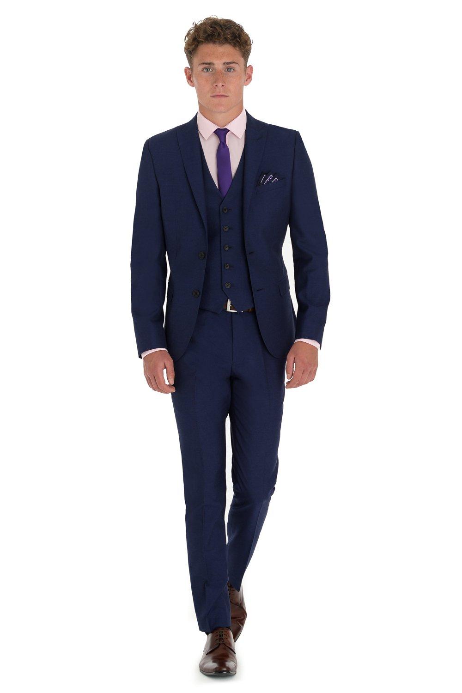 Love Dress Slim Fit Blue Suit Men Formal Party Gown 5XL