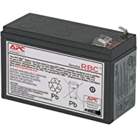 APC UPS Battery Replacement APCRBC154 for APC Back-UPS Models BE600M1, BE670M1, BN650M1, BN675M1 , Black
