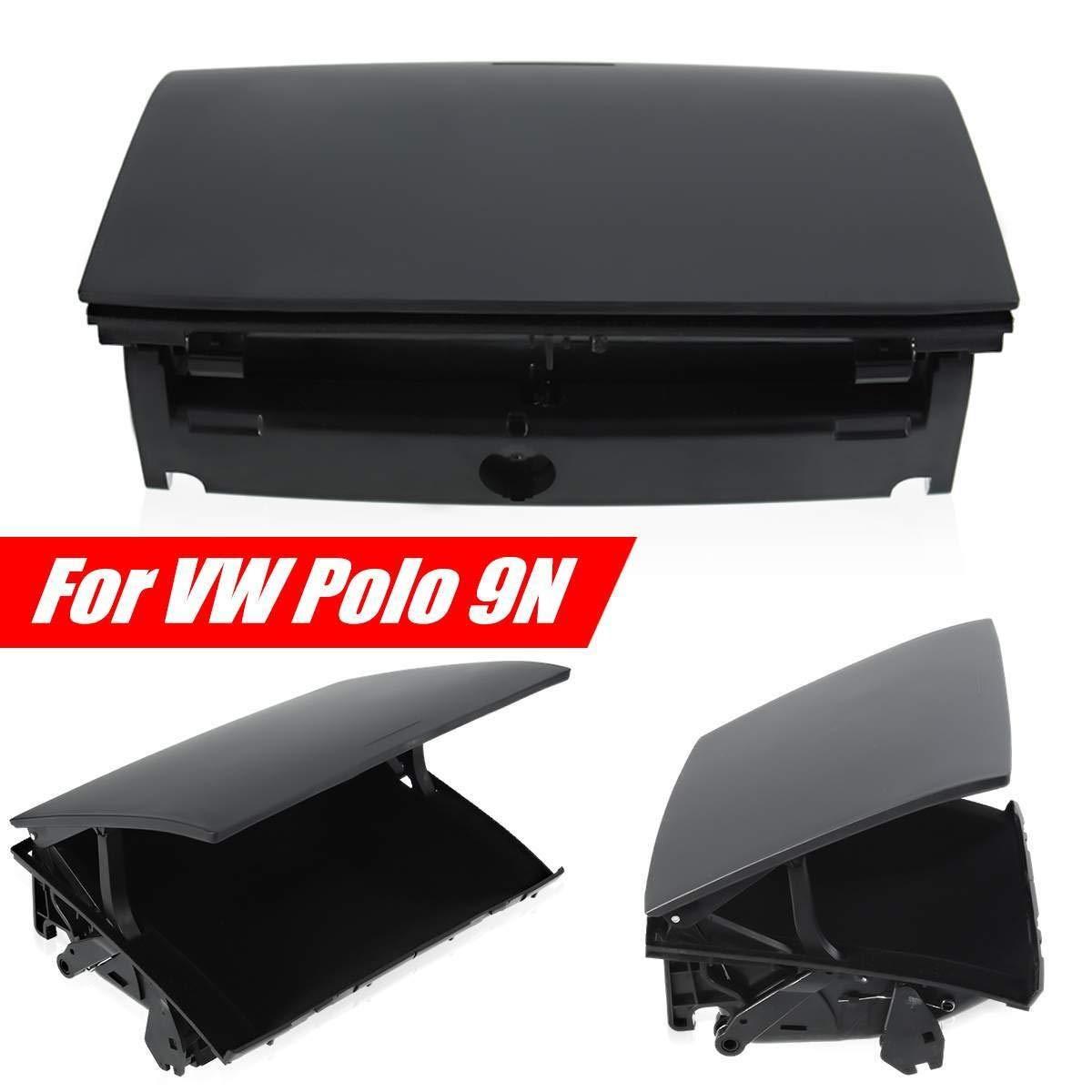 Organizzatore for supporto scatola cruscotto console centrale anteriore nera for VW Polo 2002 2003 2004 2005-2008 6Q0857465A 6Q0857465 Auto