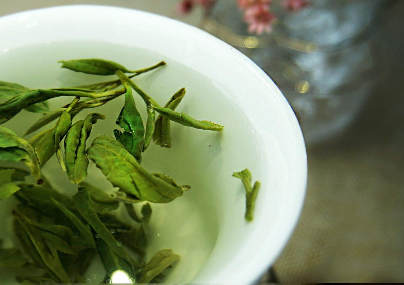 Longjing Green Tea, West Lake, Longjing , Tea after rain