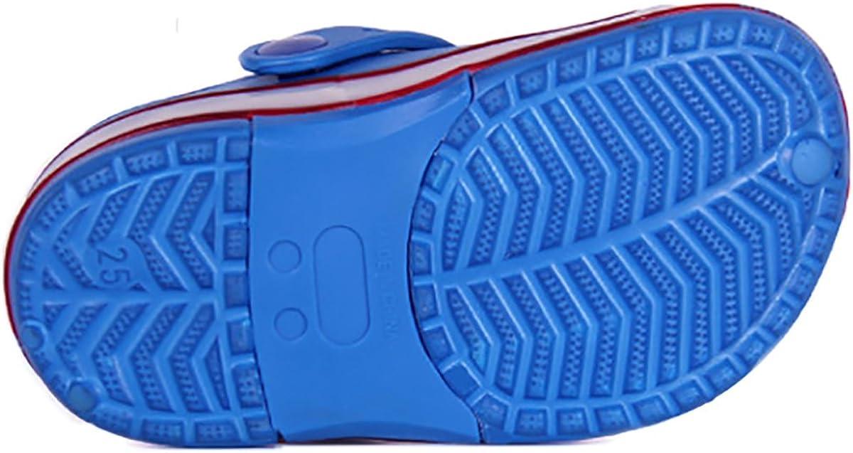 Children Boys Girls LED Clog Flash Lighted Summer Beach Shoes Walking Slippers Unisex Sandal Animals Shoe /…