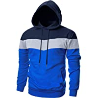 Cotrasen Men's Pullover Hoodie Lightweight Casual Workout Athletic-Fit Hooded Sweatshirt