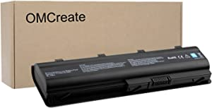 OMCreate Battery Compatible with HP 2000 Notebook PC 2000-2B19WM 2000-2C29WM 2000-2B09WM 2000-369WM 2000-365DX 2000-329WM 2000-2C29NR 2000-2d19WM 2000-299WM - 12 Months Warranty [Li-ion 6-Cell]