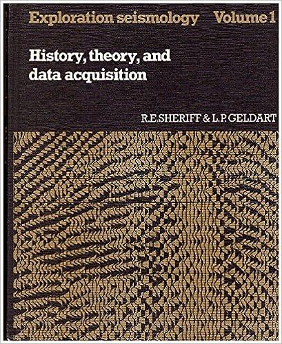 Exploration Seismology Vol 1: History, Theory, and Data
