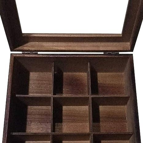 XIAMU Compartimento para Bolsitas de té, Cajas para infusiones 9 ...