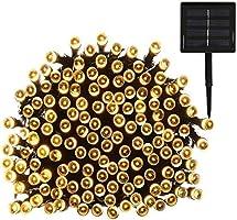 Yasolote 22M 200 LED Luci Natalizie da Esterno Luci Stringa da Energia Solare Illuminazione per Addobbi Natalizi Catene Luminosa Decorazione Natalizie Alebero di Natale Giardino Patio